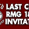 Last Chance To Win: RMG 18 Hole Invitational