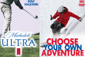 Michelob ULTRA® Winner's Choice: WIN A SKI OR GOLF GETAWAY!