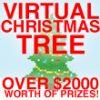VIRTUAL CHRISTMAS TREE - OVER $3000+ WORTH OF PRIZES