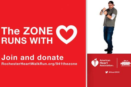 Heart Walk & Run: Join Team Zack