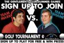 Golf Tournament | Gentlemen's Club Summer Games