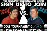 Golf Tournament | Gentlemen's Club Summer Games
