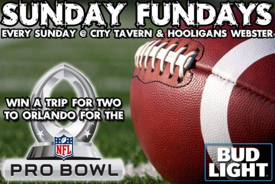 Bud Light Sunday Funday   WIN A PRO BOWL TRIP