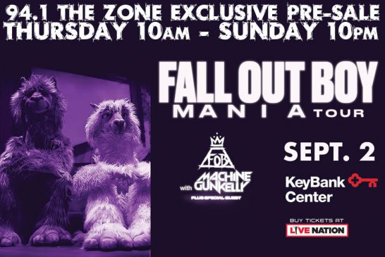 EXCLUSIVE FALL OUT BOY PRESALE