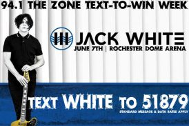 Jack White – Text To Win Weekend