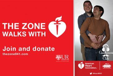 Heart Walk & Run   Join 94.1 The Zone's Team