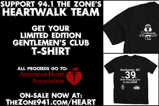 Heart Walk & Run | Join Team 94.1 The Zone