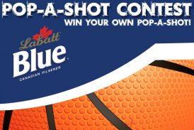 LABATT BLUE POP-A-SHOT CONTEST