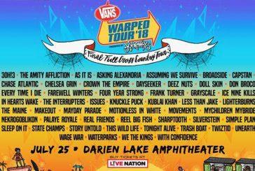 Vans Warped Tour   JULY 25th