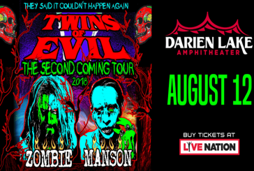 Rob Zombie & Marilyn Manson | AUG 12th