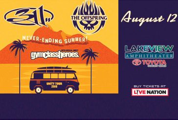 311 Offspring Gym Class Heroes | AUG 12