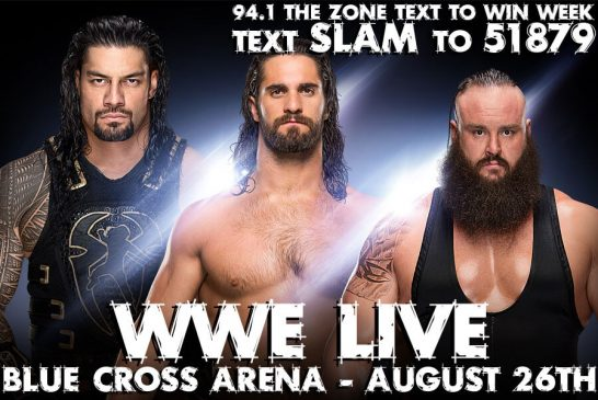 WWE LIVE | TEXT TO WIN