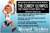 Comedy Olympics @ The Record Archive