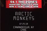 Arctic Monkeys | Hardcore Ticketslap Week