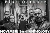 Blue October | NOV 8th