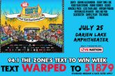 WARPED TOUR | Text To WIN Week