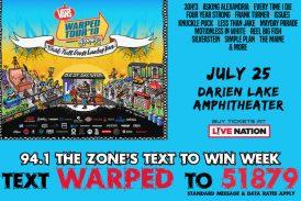 WARPED TOUR   Text To WIN Week