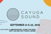 CAYUGA SOUND | SEPT 21 & 22