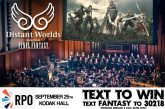 Distant Worlds: Music from FINAL FANTASY | Text To WIN