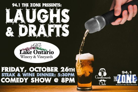 Laughs & Drafts | October 26th