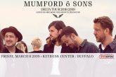 Mumford & Sons | MARCH 8th