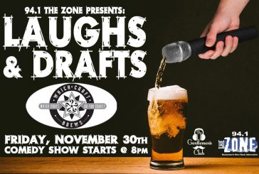Laughs & Drafts | NOV 30th