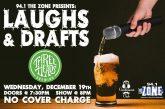 Laughs & Drafts | DEC 19th
