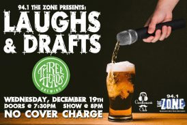 Laughs & Drafts | DEC 19th