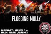 Flogging Molly | March 2nd