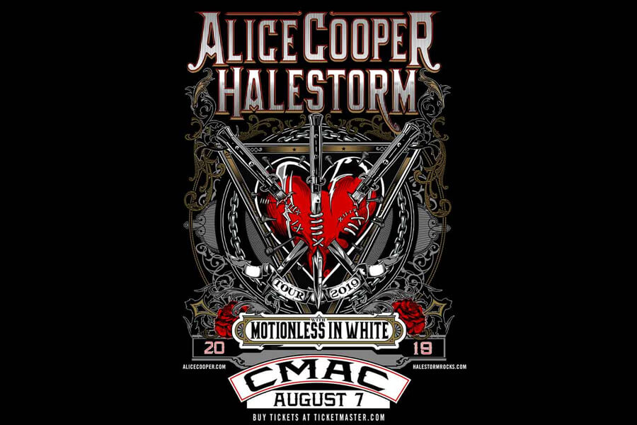 Alice Cooper & Halestorm | Aug 7th
