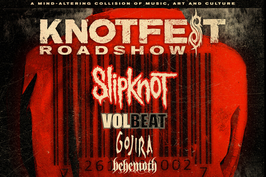 Slipknot, Volbeat, Gojira, & More | Aug 25th
