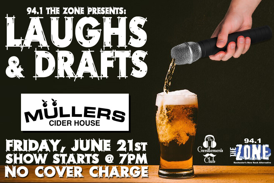 Laughs & Drafts | June 21st