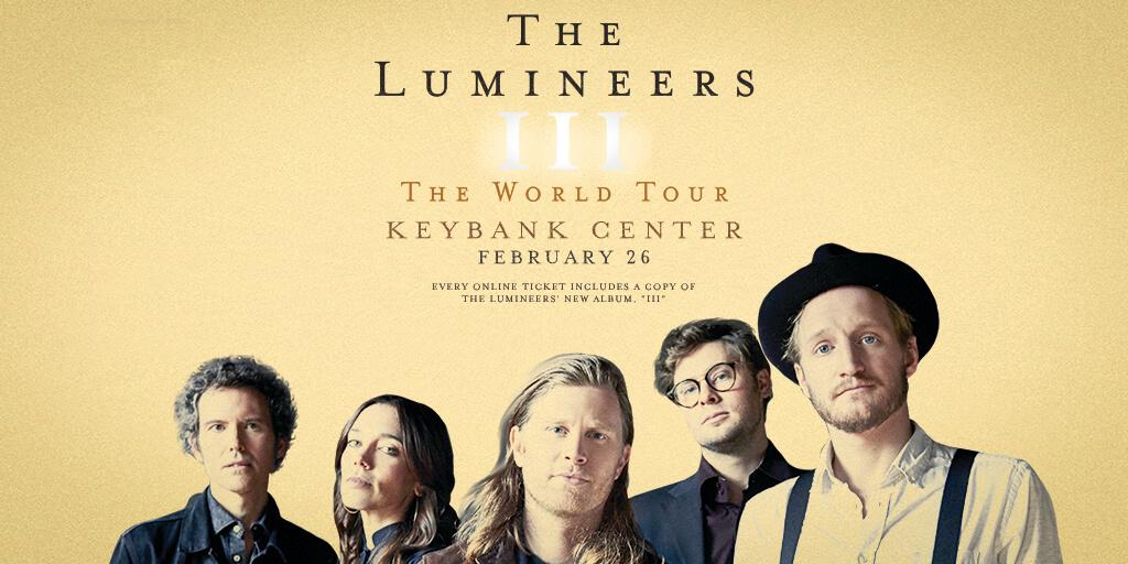The Lumineers   Feb 26th
