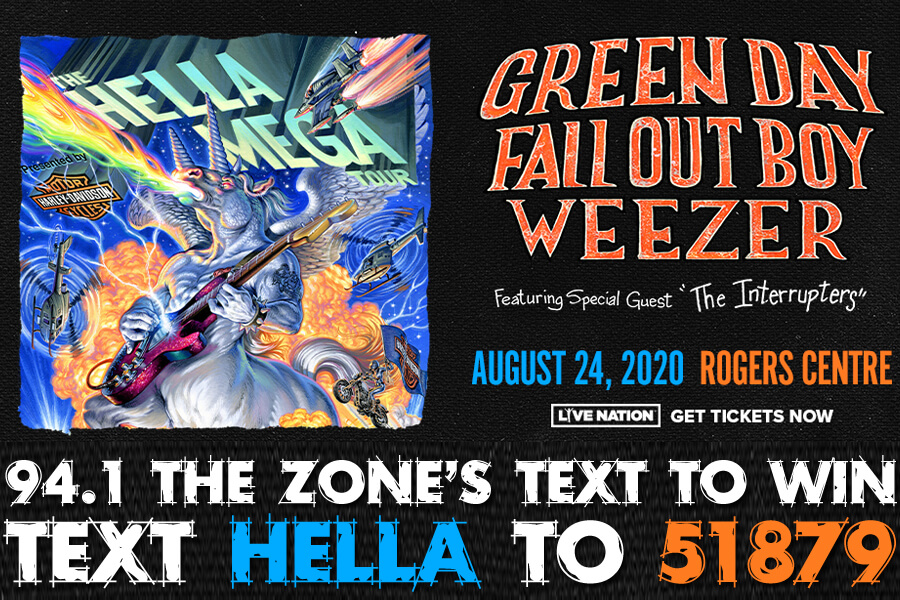 Green Day | Fall Out Boy | Weezer | TEXT TO WIN