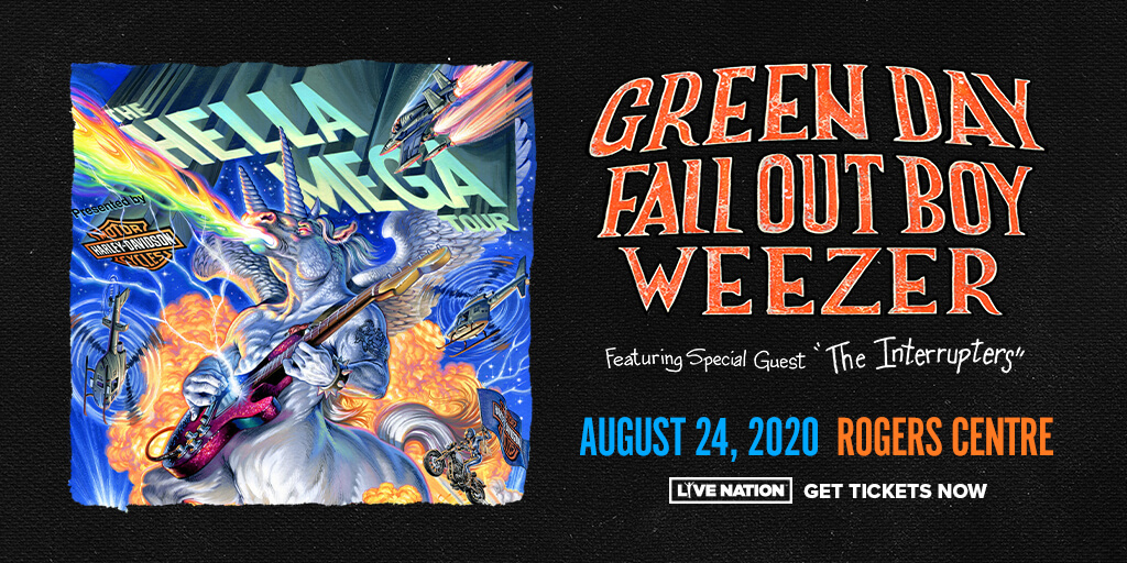 Green Day   Fall Out Boy   Weezer   Aug 24