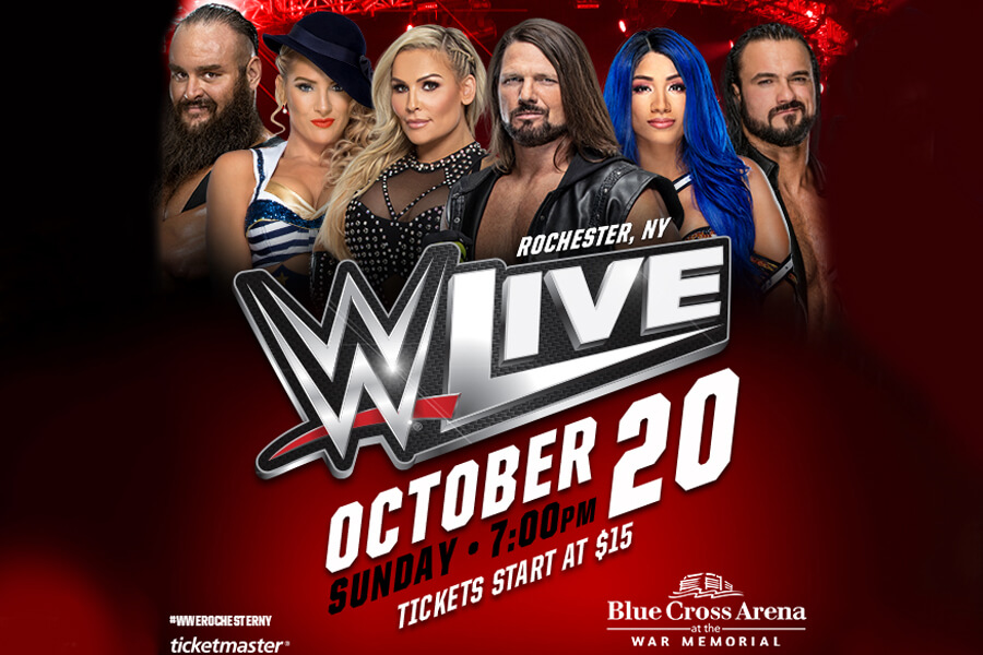 WWE Live | Oct 20th
