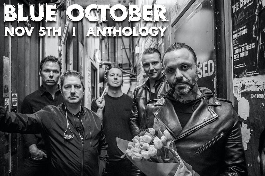 Blue October   Nov 5th