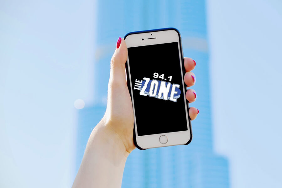 94.1 THE ZONE ON THE APP STORE