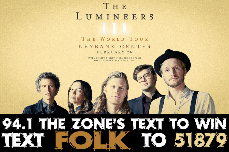 Lumineers | Text To WIN