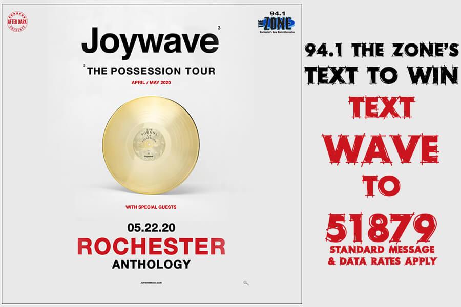 Joywave | TEXT TO WIN