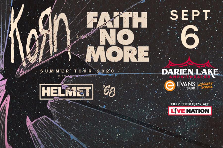 KORN | Faith No More | Sept 6