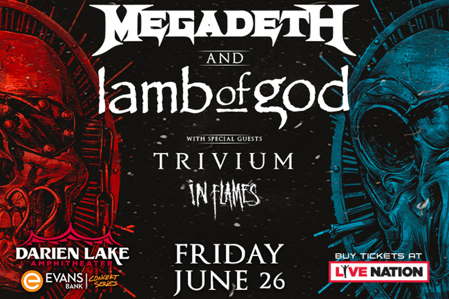 Megadeth | Lamb of God | July 23rd, 2021