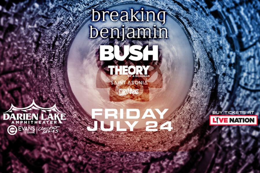 Breaking Benjamin | Bush | July 24th