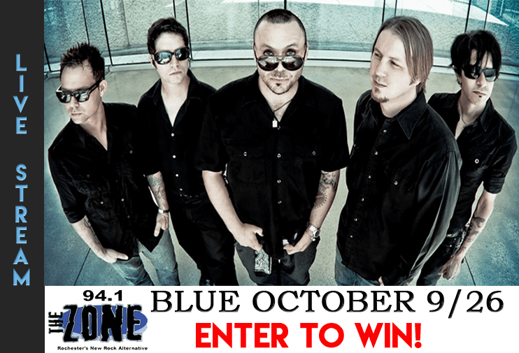 Blue October Live Stream 9/26