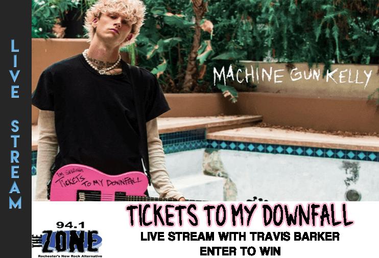 MGK Tickets to my Downfall Live Stream