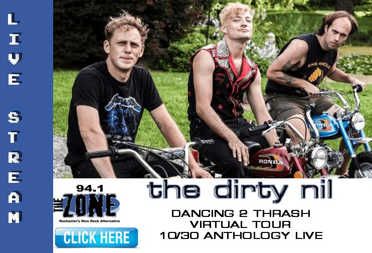 Dirty Nil Dancing 2 Thrash Virtual Tour @Anthoolgy Live 10.30
