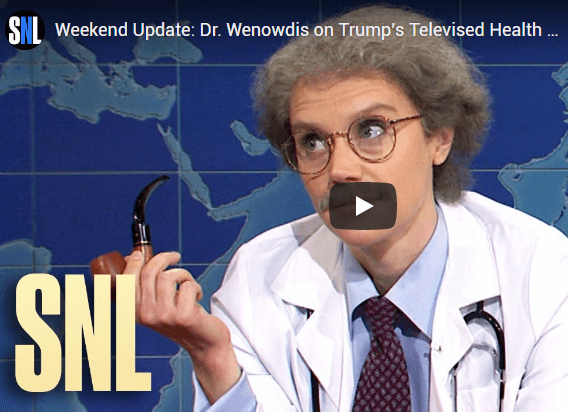 Kate McKinnon broke character on SNL this past weekend.