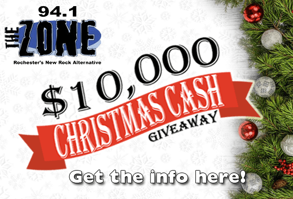 Win $10,000 with The Zone and ChristmasDJ.com!