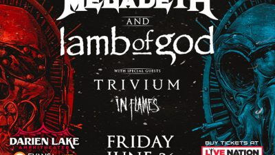 Megadeth | Lamb of God | July 23rd, 2021