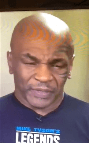 VIDEO: Mike Tyson slurs speech, and almost falls asleep during live interview.